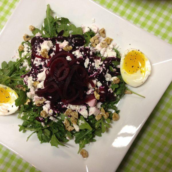 Beet & feta salad