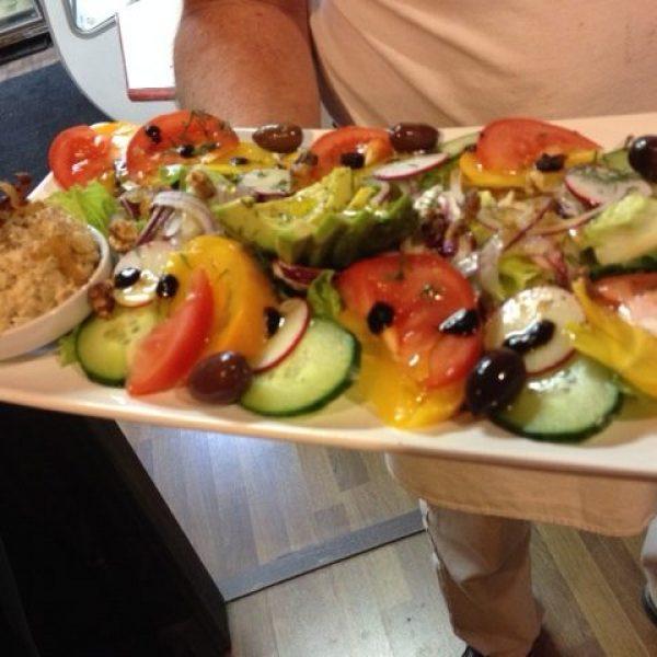 Israeli Tuna Salad Platter