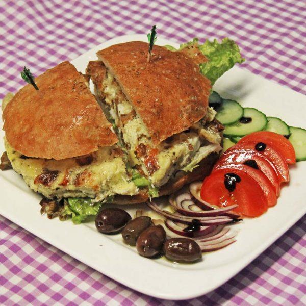 Spanish Frittata Sandwich