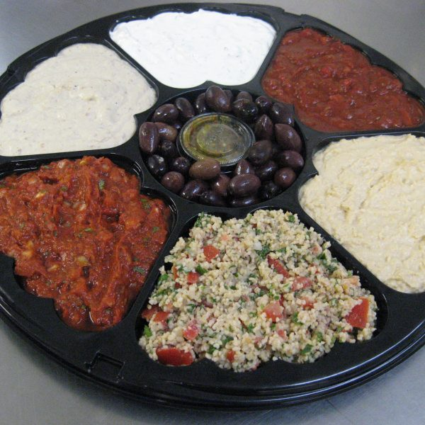 Walla 6 dip party platter